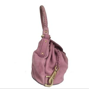 Kenneth Cole Bags - Kenneth Cole New York Ultra Violet Suede Hobo Bag